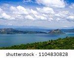beautiful landscape at tagaytay ...   Shutterstock . vector #1104830828