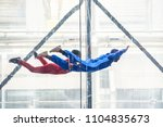Skydivers In Indoor Wind Tunne...