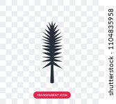 tall pine tree vector icon... | Shutterstock .eps vector #1104835958