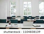 empty office after work hours | Shutterstock . vector #1104838139