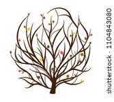 tree of life in hand drawn... | Shutterstock .eps vector #1104843080