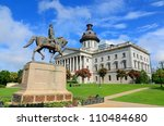 the south carolina state house... | Shutterstock . vector #110484680