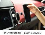 universal mount holder for... | Shutterstock . vector #1104865280