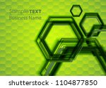 green abstract template for...