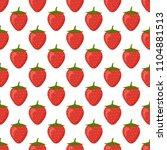 seamless pattern ripe red...   Shutterstock .eps vector #1104881513