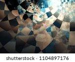 dark mystery background. | Shutterstock . vector #1104897176