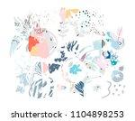 creative universal artistic... | Shutterstock .eps vector #1104898253