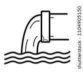 discharge of liquid chemical...   Shutterstock .eps vector #1104905150