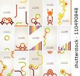 abstract vector layout design | Shutterstock .eps vector #110490848