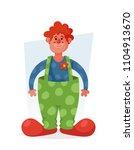 cute cartoon character. funny... | Shutterstock .eps vector #1104913670