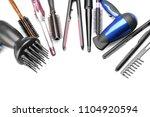 professional hairdresser's...   Shutterstock . vector #1104920594