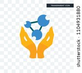 chemist vector icon isolated on ... | Shutterstock .eps vector #1104931880