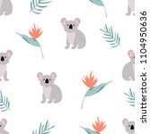 Seamless Pattern With Cuddly...