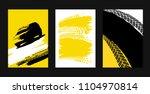 vector automotive posters... | Shutterstock .eps vector #1104970814