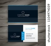 professional blue dark business ... | Shutterstock .eps vector #1104974039