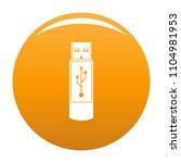 portable flash drive icon....   Shutterstock .eps vector #1104981953