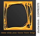 frame for design cheese melt... | Shutterstock .eps vector #1104982370