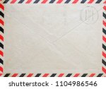 Vintage Envelope With Postal...