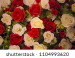 beautiful flowers as background | Shutterstock . vector #1104993620