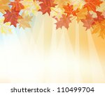 Autumn Maples Falling Leaves...