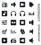 set of vector isolated black... | Shutterstock .eps vector #1105003346