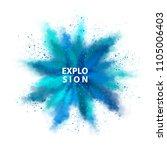 vector watercolor transparent... | Shutterstock .eps vector #1105006403