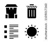basic icon set. clean  set ...