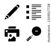 basic icon set. internet ...