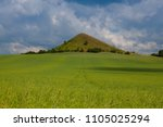 view on cicov hill in czech... | Shutterstock . vector #1105025294