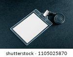 identification white blank... | Shutterstock . vector #1105025870