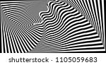 abstract black and white... | Shutterstock .eps vector #1105059683