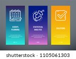 events planning  statistical... | Shutterstock .eps vector #1105061303