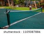 outdoor ping pong table tennis...   Shutterstock . vector #1105087886