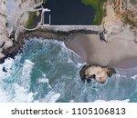 Aerial View Of Sutro Bath Ruin...