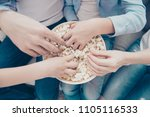 top view close up portrait of... | Shutterstock . vector #1105116533