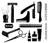 set of professional...   Shutterstock .eps vector #1105118888