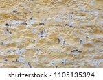 paint crack concrete wall... | Shutterstock . vector #1105135394