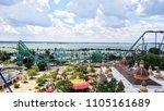 sandusky  oh   june 1  2018 ... | Shutterstock . vector #1105161689