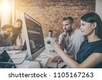 developing programming and... | Shutterstock . vector #1105167263