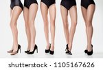 group from beautiful young... | Shutterstock . vector #1105167626