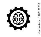 brainstorming creative idea icon | Shutterstock .eps vector #1105172318