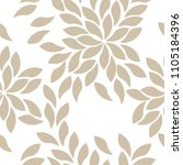 vector illustration floral... | Shutterstock .eps vector #1105184396