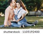 pregnancy  maternity  family ... | Shutterstock . vector #1105192400
