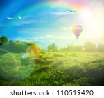 beautiful image of stunning... | Shutterstock . vector #110519420