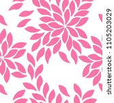 vector illustration floral... | Shutterstock .eps vector #1105203029