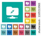 ftp compression multi colored... | Shutterstock .eps vector #1105213583