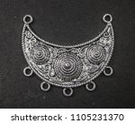 oxidized jewelry images   Shutterstock . vector #1105231370