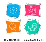 set of love  research and...   Shutterstock .eps vector #1105236524