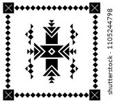 design element based on... | Shutterstock .eps vector #1105244798