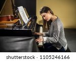 Beautiful Female Pianist